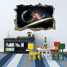 3D-Sternenhimmel Wand Aufkleber für Wohn-/Schlafzimmer/Zimmer/Kindergarten/Kinder Zimmer Einrichtung Kunst Aufkleber