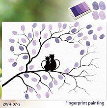 3D Sticker 3D Fingerprint Malerei \ Diy Kreative