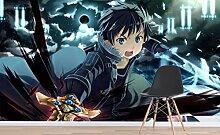 3D Sword Art Online 444 Japan Anime Tapeten