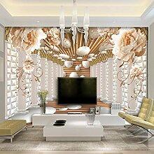 3D-Tapete abstrakte Kunst Wandbild Wohnzimmer