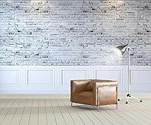 3D Tapete Abstrakte Weiße Vintage Steine