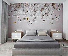 3D Tapete Cotton Bird Art Fototapete Vlies Wand