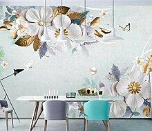 3D Tapete Effekte Blume Fototapete Modern Vlies