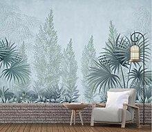 3D Tapete Effekte Pflanzenblätter Fototapete