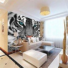 3D Tapete Effekte Tiger Vlies Tapete Riesiges Bild
