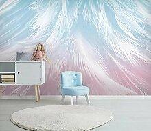 3D Tapete Feder Fototapete Abstrakt Vlies Wand