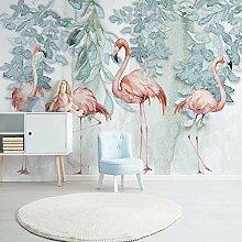 3D Tapete Flamingo 3D Wandbilder Vlies Tapete