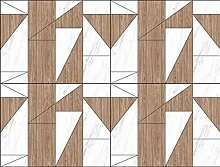 3D Tapete Fototapete Einfaches Holzmasermuster Des