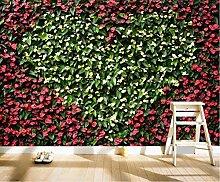 3D Tapete Fototapete Pastoral Anthurium Blume