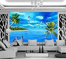 3D Tapete Fototapete Schöne Landschaft Der Palmen