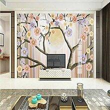 3D Tapete Für Wohnzimmer Einfache Moderne