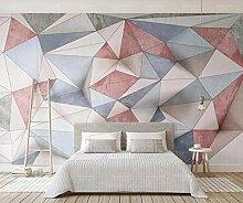 3D Tapete Geometrische Dreieckslinien Vintage