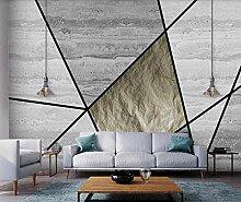 3D Tapete Geometrischer Minimalismus Aus Marmor