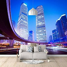 3D Tapete Hochhaus 3D Wandbilder Für Fernseher