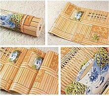 3D Tapete Holzgitter Fenstergitter Teehäuser
