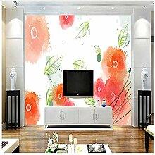 3D Tapete Mädchen Zimmer Dekor Floral Tapete Für