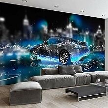 3D-Tapete, modern, cooles Sport-Auto, Fototapete