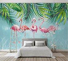 3D Tapete Moderne Flamingo Vliestapete 3D