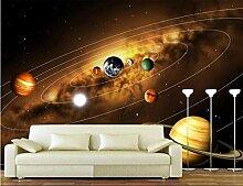 3D Tapete Moderne Planet Vliestapete 3D Wallpaper