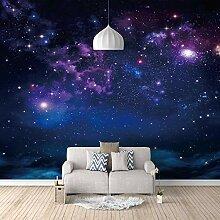 3D Tapete Moderne Sternenklarer Himmel Vliestapete