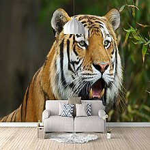 3D Tapete Moderne Tiger Vliestapete 3D Wallpaper