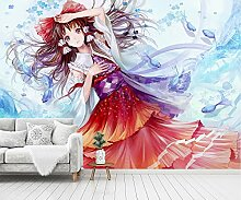 3D Tapete Oriental project Anime Wallpaper Mural