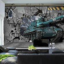 3D Tapete Panzer 3D Wandbilder Vlies Tapete Bilder