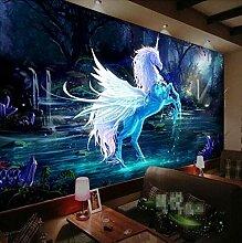 3D Tapete Pferd Ktv Große Mural Tapete