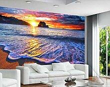 3D Tapete Schöner Sonnenaufgang Am Östlichen