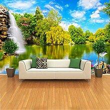 3D-Tapete Tapete 3D Für Wohnzimmer Tv-Hintergrund