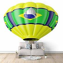 3D Tapete Vlies Heißluftballon 3D Wandbilder Für