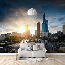 3D Tapete Vlies Hochhaus 3D Wandbilder Für