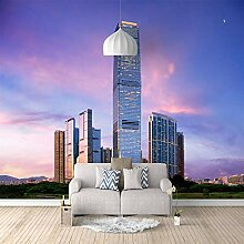 3D Tapete Vlies Ziyun Gebäude 3D Wandbilder Für