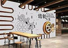 3D-Tapete/Wandbild für Wohnzimmer/TV/Hintergrund