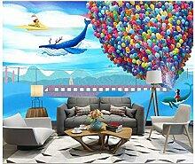 3D Tapete Wandbild Wohnzimmerschlafzimmer Der