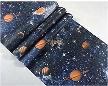 3D Tapete Weltraumplanetenuniversum Galaxie Decke