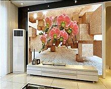 3D Tapete Wohnzimmer Raum Hintergrund 3D Wallpaper