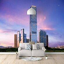 3D Tapete Ziyun Gebäude 3D Wandbilder Für