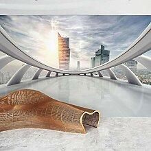 3D Tapete ZZZXX Raumerweiterung Für