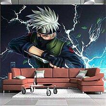 3D Tapeten Wandbild Fototapete Naruto Kakashi Foto