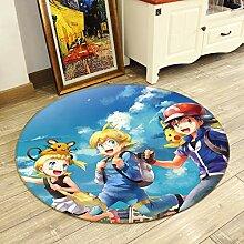 3D Teppich Matte für Pokemon Pikachu 47