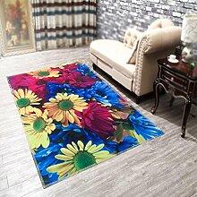 3D Teppich Tür Teppich, Matratze, Türmatte, Schlafzimmer, Foyer, Wohnzimmer Matte, rutschfeste Matte , #3 , 50*80cm