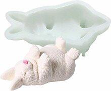 3D-Tier-Form aus Silikon, Motiv: Eisbär,