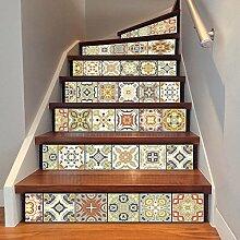 3D Treppe Aufkleber Fliesen Mosaik DIY