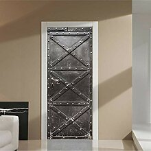 3D Tür Aufkleber für Schlafzimmer Küche