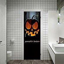 3D Tür Aufkleber Halloween Türaufkleber Pvc