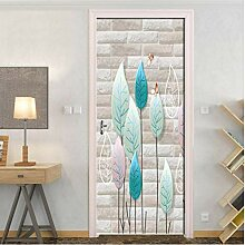 3D Tür Aufkleber Kreative PVC Wasserdichte