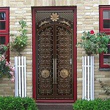 3D Tür Aufkleber Tür Aufkleber Selbstklebende