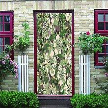 3D Türaufkleber Camouflage Wasserdichte Tür