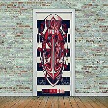 3D Türaufkleber Signe Wasserdichte Tür Aufkleber